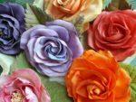 Růže z foamiranu